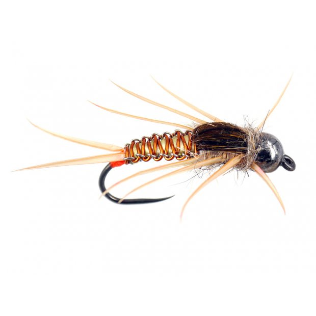 Copper Yellow Woven Stonefly Nymph TG BL
