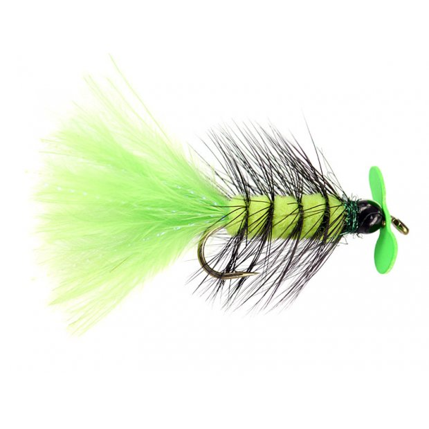 Chartreuse Hot Wooly Bugger Evo